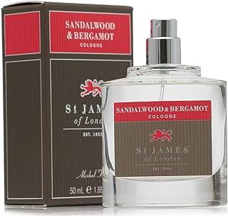 St James of London Sandalwood & Bergamot Cologne
