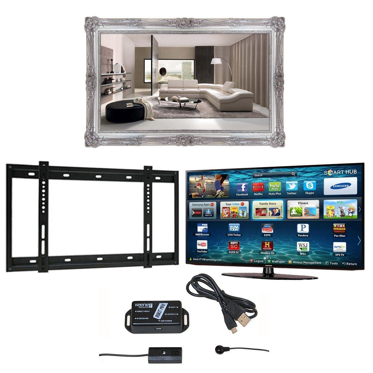 Surrey TV espejo marco, Samsung M6100 4 K Ultra HD Smart TV ...