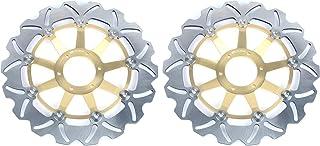 TARAZON 2 piezas para CBR600F CBR600F4 CBR 600 F F4 1999 2000/ CBR900RR CBR 900 RR 1992 1993/ GL 1500 Valkyrie SC34 97-03/ Gold Wing 1800 Disco Discos de Freno Delantero