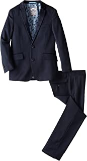 Big Boys' Two Piece Classic Mod Suit In Navy Blue
