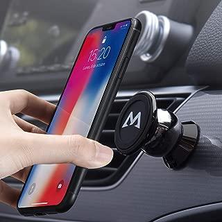 LeYi Soporte Movil para Coche Magnetico Rejillas Ventilaci/ón 360 Grados Giratorio Universal Iman Sujetar Adaptador Smartphone Holder para iPhone X//XR// 8//7 Samsung S10//A50 Xiaomi Note 7 Huawei y GPS