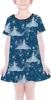 Rainbow Rules Elsa Crystals Frozen 2 Inspired Girls T-Shirt Dress