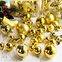 Kalolary 30PCS Christmas Ball Ornament Shatterproof Christmas Decorations Tree Balls Hanging Ball for Xmas Wedding Party F...