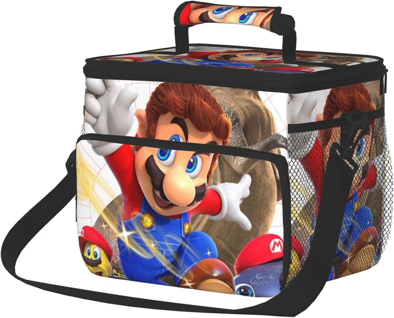 Max 67% OFF Ranking TOP17 Super Mario Odyssey Insulated Reusable Lun Adult Large Lunch Bag