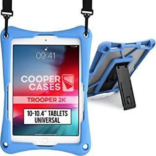 Cooper Trooper 2K Rugged Case for 10-10.4'' Tablet | Tough Bumper Protective Drop Shock Proof Kids Holder Carrying Cover B...