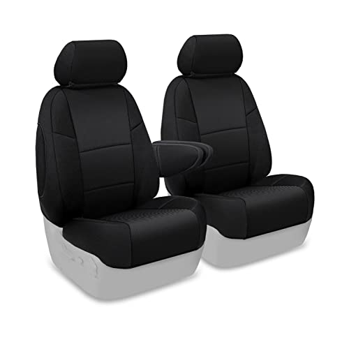 Coverking Custom Fit Front 50/50 Bucket Seat Cover for Select Toyota FJ Cruiser Models