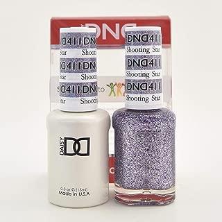 DNDDuo Gel (Gel & Matching Polish ) Glitter Set 411-shooting Star