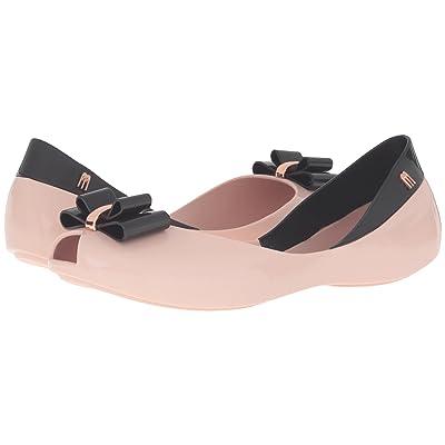 Melissa Shoes Queen V (Pink/Black) Women