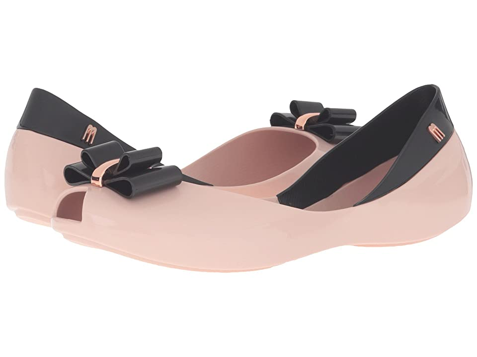 Melissa Shoes Queen V (Pink/Black) Women