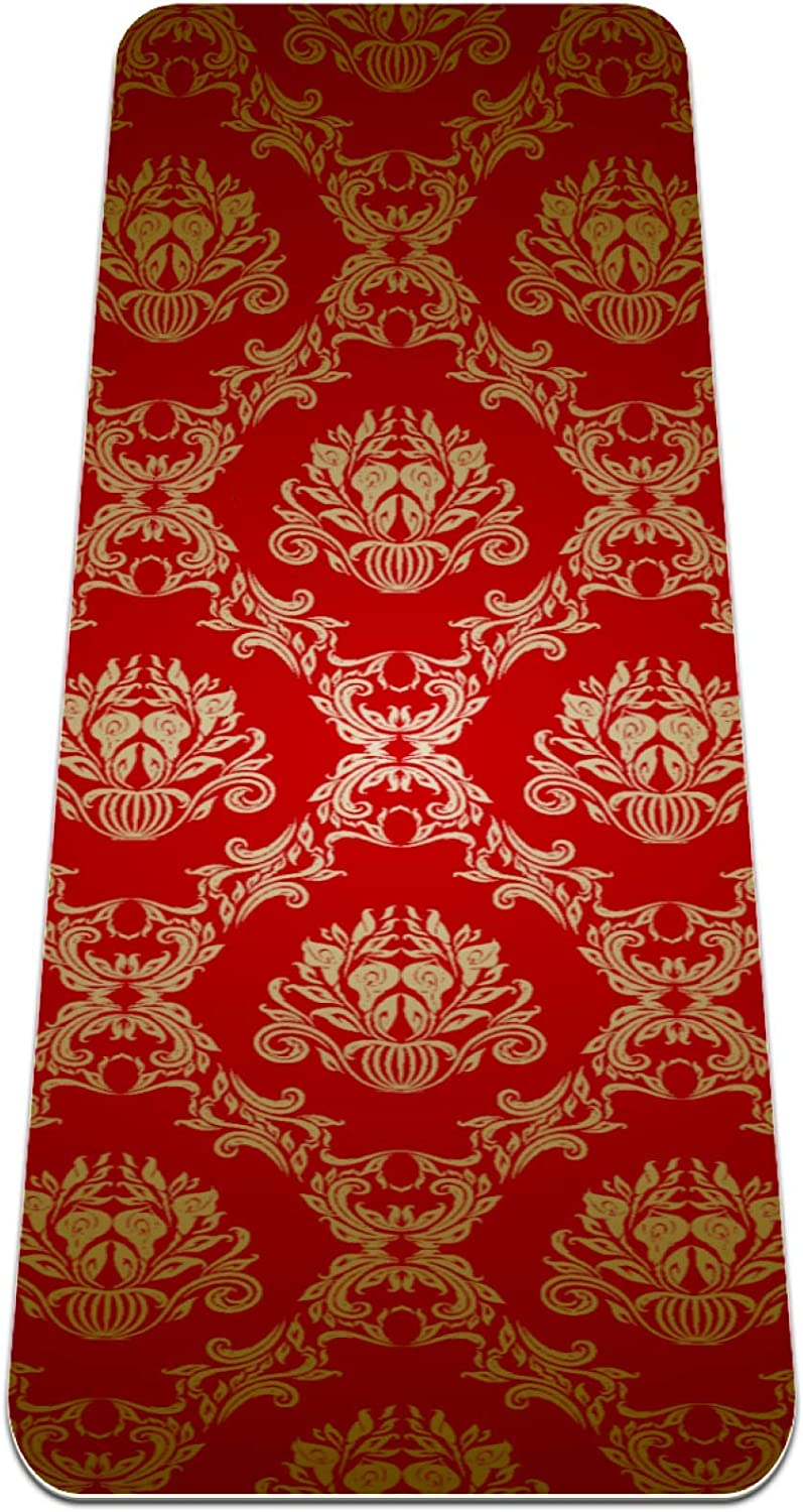 Yoga Mat Non Slip TPE New Our shop most popular product Seamless pattern High abstract Pad Density