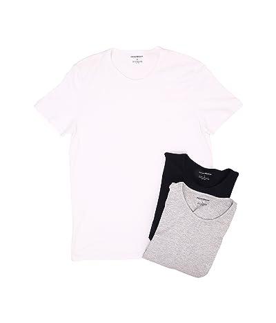 Emporio Armani 3-Pack Crew Neck T-Shirt
