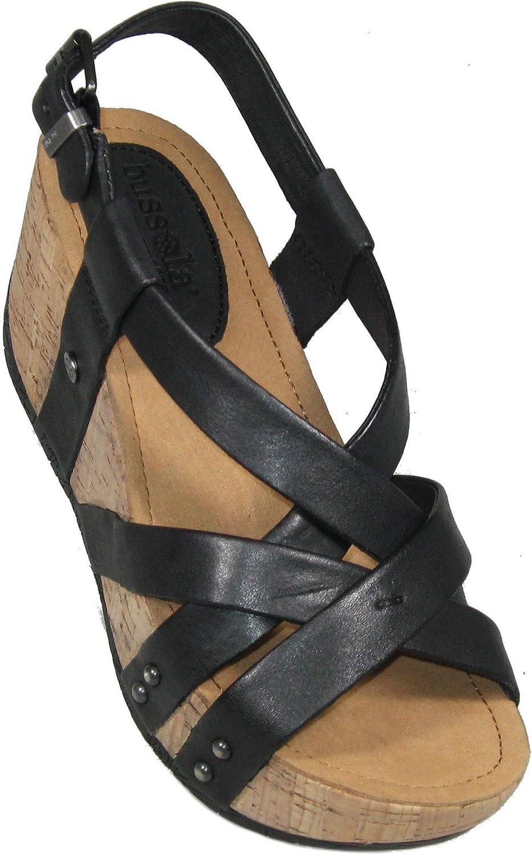 Bussola Women's 'Fiorina' Sandal in Black