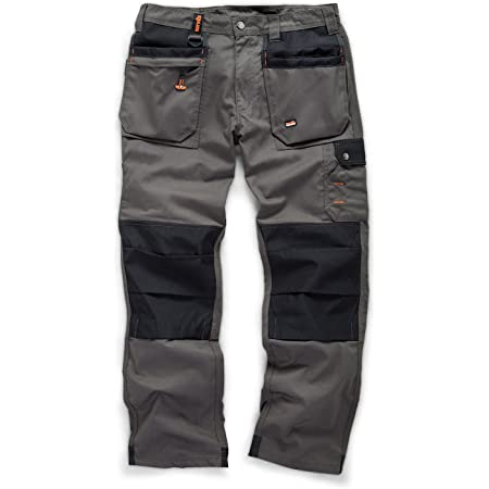 Scruffs Men's Worker Plus Trousers Graphite Grey Work Utility Pants