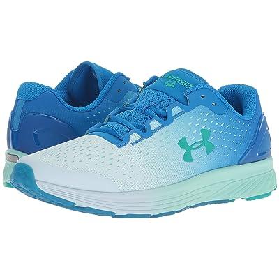 Under Armour Kids UA GGS Charged Bandit 4 (Big Kid) (Blue Circuit/Halogen Blue/Green Malachite) Girls Shoes