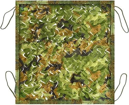 Chunlan Filet De Camouflage Tissu 210D Oxford Vert pour Camping Cacher De Plein Air Tissu D'ombre Parasol La Photographie Filets De Décoration (Taille   6X6m)