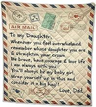 YTXTT Cobertor de flanela, cobertor de lã com mensagem impressa, colcha de flanela para decoração de casa, escritório, car...
