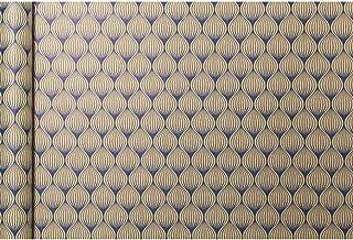 Clairefontaine 223829C - Un rouleau de papier cadeau Tiny rolls en kraft brut 100% recyclé 5m x 35cm (spécial petite large...