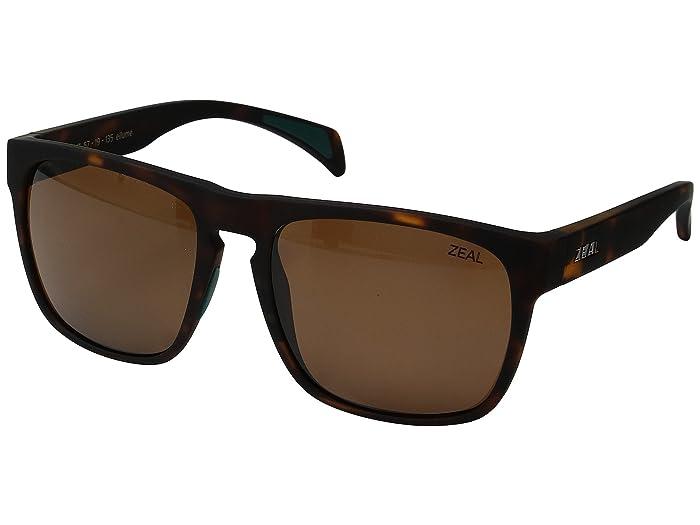 Zeal Optics  Capitol (Matte Tortoise with Copper Lens) Sport Sunglasses
