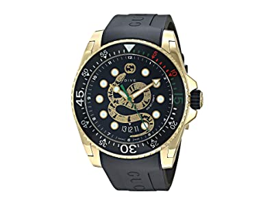 Gucci Gucci Dive Watch (Black) Watches