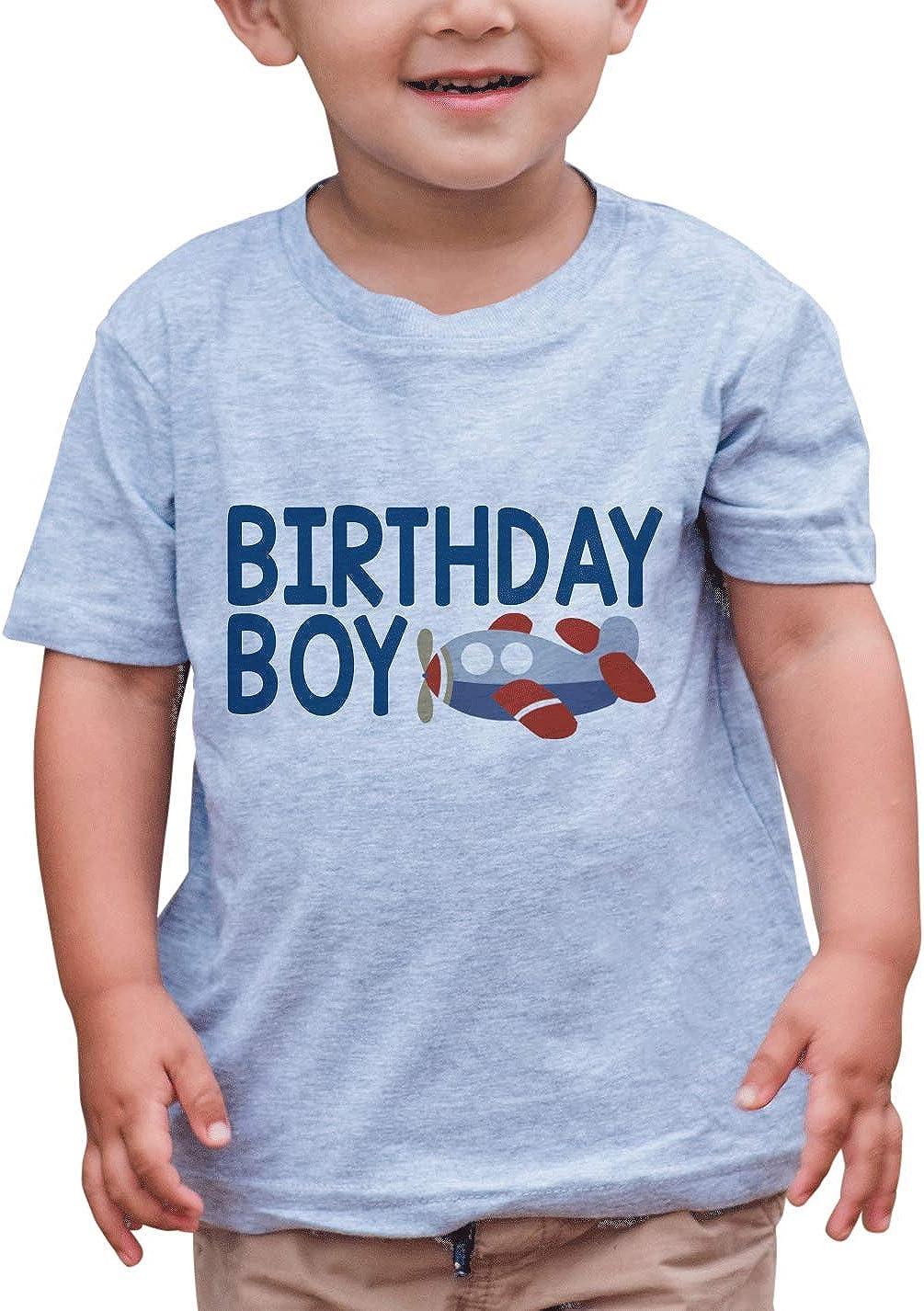 Lowest price challenge 7 ate 9 Apparel San Jose Mall Boy's T-Shirt Birthday Airplane Boy