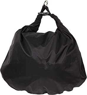 Waterproof Motorcycle Helmet Bag Dry Bag Sack Storage Shoulder Bag 30L (Black)