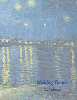 Wedding Planner Notebook: Gender Neutral Ultimate Planning Helper - Starry Gay Couple Cover - Contact Sheets - Countdown Prompts - Checklists - Aide Memoir Sheets - Venue - Budget - Catering