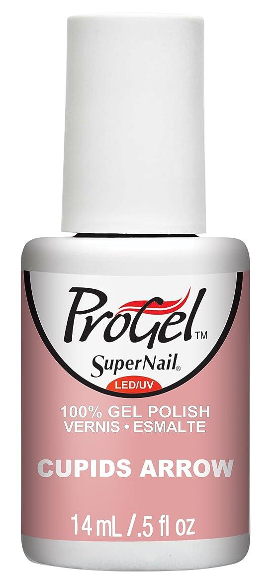 逆さまに噂有名人SuperNail ProGel Gel Polish - Cupids Arrow - 0.5oz / 14ml