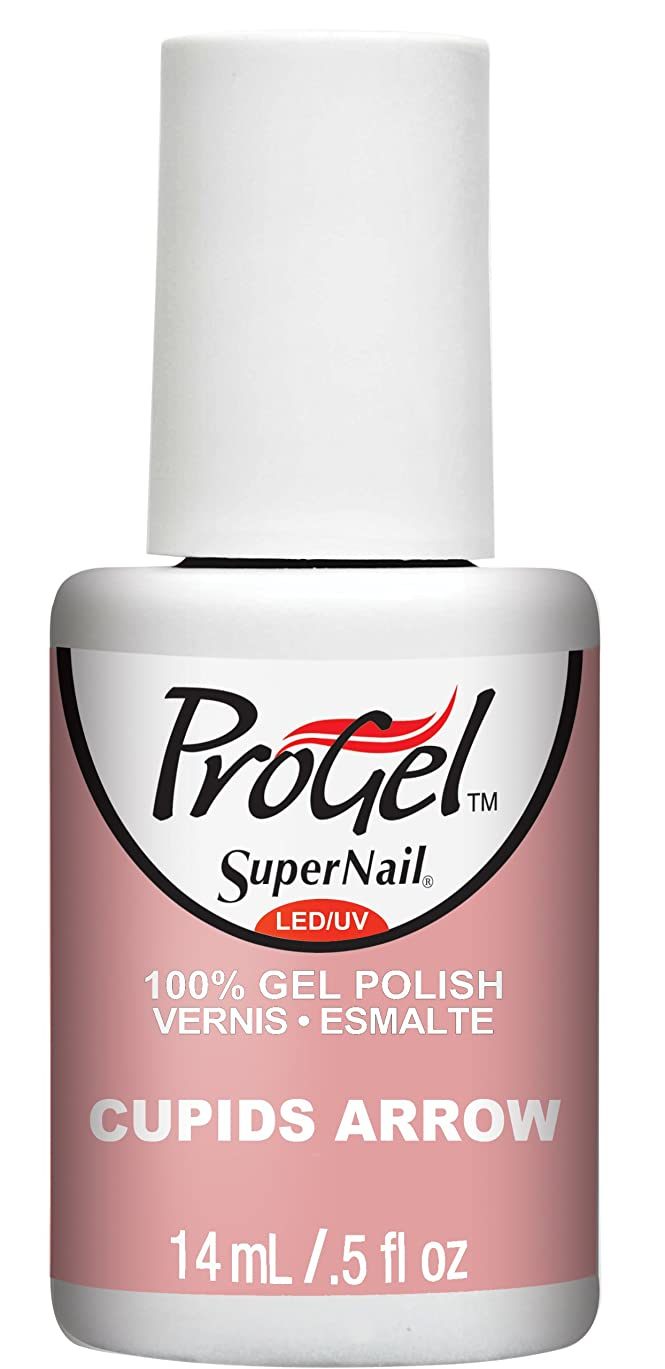 クリスマスフィットだらしないSuperNail ProGel Gel Polish - Cupids Arrow - 0.5oz / 14ml