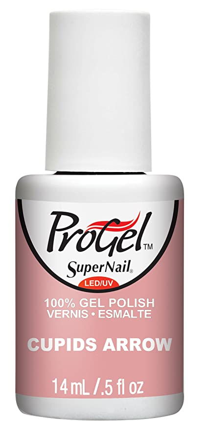 十二冗長読書SuperNail ProGel Gel Polish - Cupids Arrow - 0.5oz / 14ml