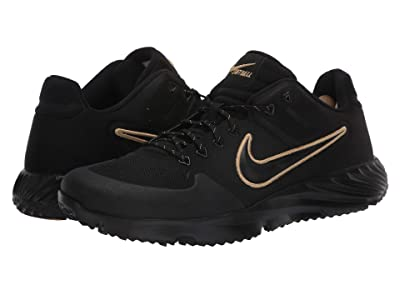 Nike Alpha Huarache Elite 2 Turf (Black/Black) Women