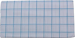 Stylesindia Men's Pure Cotton Lungi Sarong Mundu Dhoti Kaili India Ethnic Dress White Checks-Blue