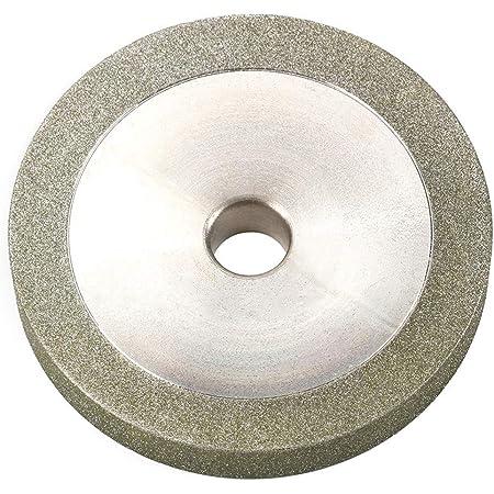100mm 4/'/' Glass Stone Grinding Cutting Tool Diamond Coated Flat Wheel Disc XSZZD