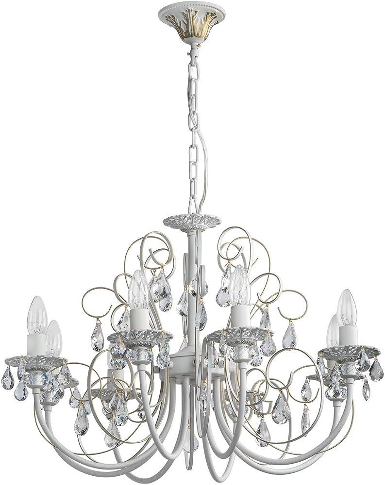 Lampadario da soffitto barocco di metallo 301015308