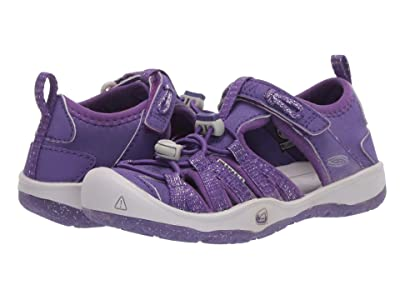 Keen Kids Moxie Sandal (Toddler/Little Kid) (Royal Purple/Vapor) Girl