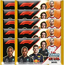 2021 Topps F1 Turbo Attax Cards - 10-Pack Set (10 Cards per Pack) (Total of 100 Cards)