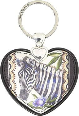Africa Stories Zeb Heart Key Fob
