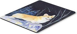 Caroline's Treasures SS8353MP Starry Night Corgi Mouse Pad/Hot Pad/Trivet, Large, Multicolor