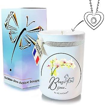 AG ArtGosse - Vela de Joyas Little 170 ml, orquídea Blanca con ...