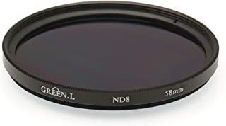 Gadget Career 58mm Neutral Density ND2 Filter for Canon EF 24mm f//2.8 IS USM 28mm f//2.8 IS USM