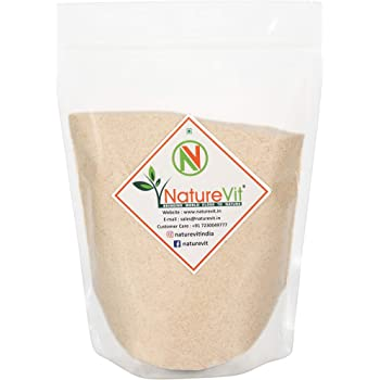 NatureVit Psyllium Husk Powder, 400g [Fiber Supplement, Perfect for Keto Bread and Gluten Free Baking]