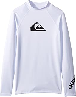 All Time Long Sleeve Rashguard (Big Kids)