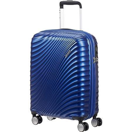 American Tourister Jetglam - Spinner S Bagage Cabine, 55 cm, 35.5 L, Bleu (Metallic Blue)