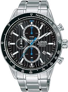 ساعة لوروس للرجال انالوج بعقارب كوارتز وبسوار ستانلس ستيل RM327GX9