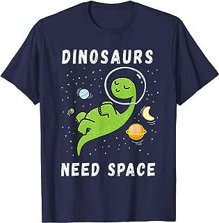 dinosaur astronaut t shirt