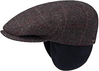 0a04a248 Stetson Kent Wool Ivy Cap with Earflaps Men | Made in The EU Flat caps hat