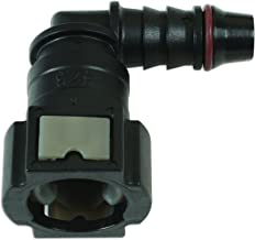 Connect Consumables Connect Workshop Consumables 37208 Fuel Line Angled Quick Connectors 9.49mm x 8mm Pk 3