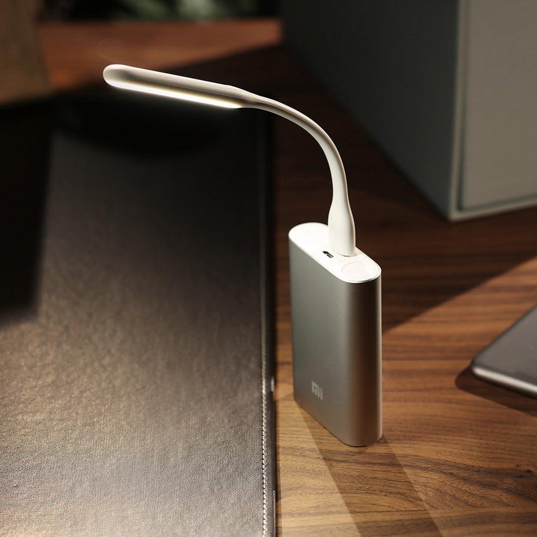 ZMI Dimmable (5 Brightness Levels) Bendable Portable USB Powered LED Light/LED Lamp - 2nd Gen (Blue)