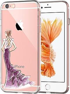 af7449af650 Teryei Funda iPhone 6/6S TPU Silicona Carcasa [Ultra Slim] Anti-Scratch
