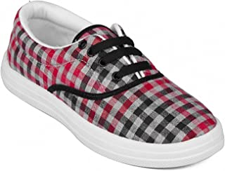 Asian shoes VL-21 Red Women Casual Shoes