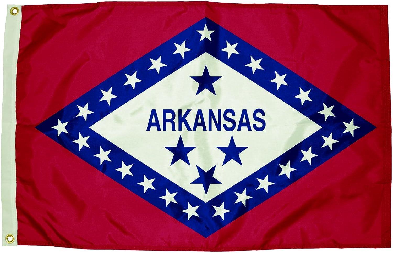 Independence Flag Unabhängigkeit Flagge Flagge Flagge Nylon Arkansas Flagge, 3 x 5 ' B008VV0YVA  | Outlet Online Store  e17140